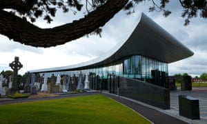 The new Museum and Visitors Centre at Glasnevin Cemetry, Dublin