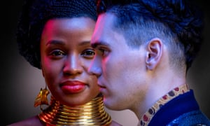 What if? … Masali Baduza and Jack Rowan in the 2020 adaptation of Noughts & Crosses.