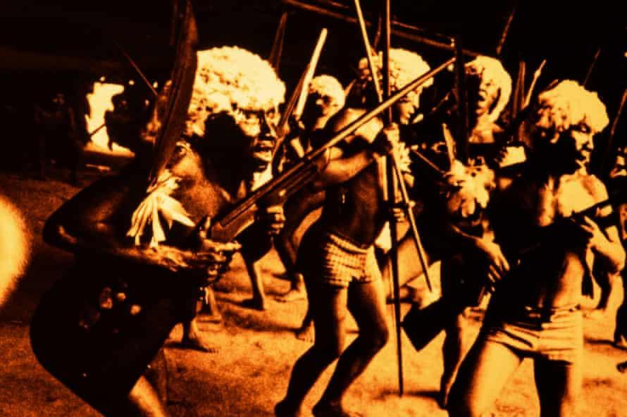 Andujar's exhibition, The Yanomami Struggle, has just opened in São Paulo.