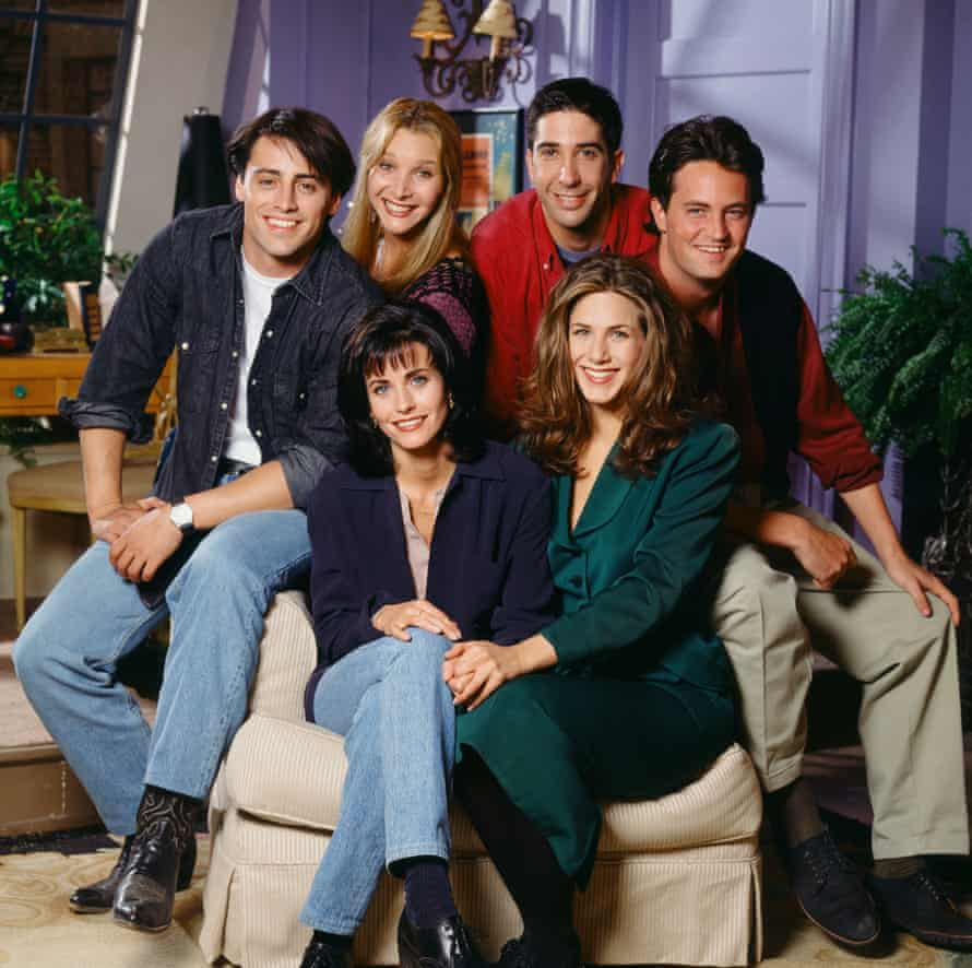 Back to the 90s ... the cast of Friends.
