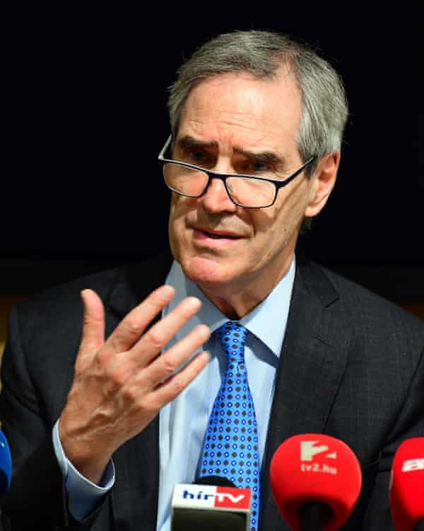 Michael Ignatieff, president and rector of the Central European University.