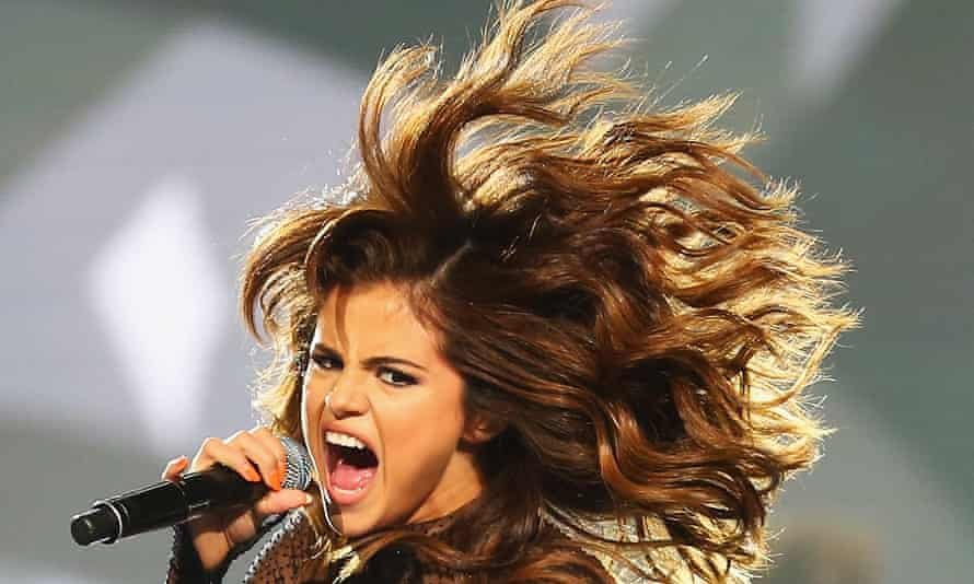 Selena Gomez performing in Sydney during her Revival tour. Panic attacks linked to lupus have forced her off the stage.