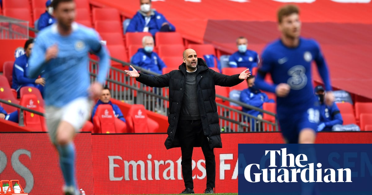Pep Guardiola left to ponder his fatal flaw with quadruple dream in ruins