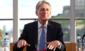 The chancellor, Philip Hammond