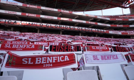 Benfica played their first game since the Primeira Liga resumption behind closed doors on Thursday