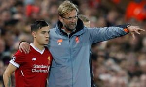 Jürgen Klopp lost Philippe Coutinho to Barcelona in the January transfer window but Liverpool have gone from strength to strength