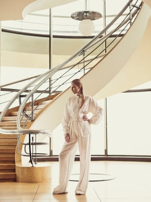 Shirt, £395, and trousers, £345, both joseph-fashion.com  Shoes £630, marni.com