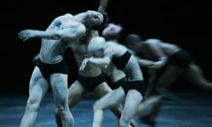 Wayne McGregor collaborated with Random International on the show +/- Human at the Roundhouse.