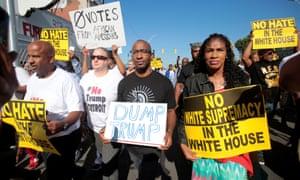Detroit Trump protesters