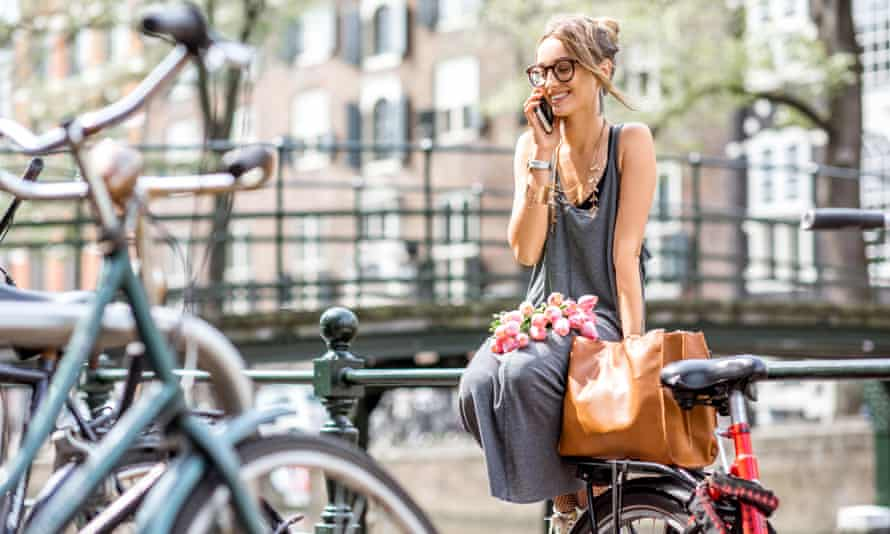 Phone call in Amsterdam