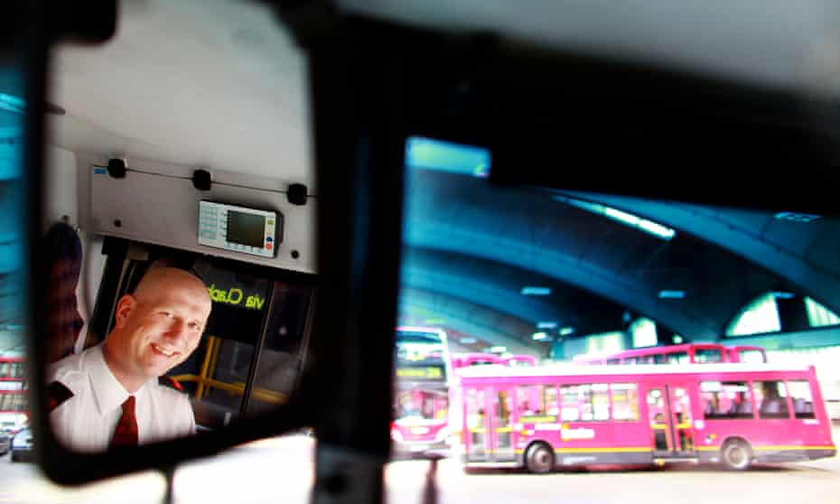 Does the weight of the implicit expectation to thank your bus driver vary by region?