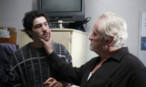 Tahar Rahim and Niels Arestrup in A Prophet.