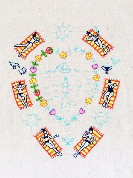 Rita Ribas's embroidery