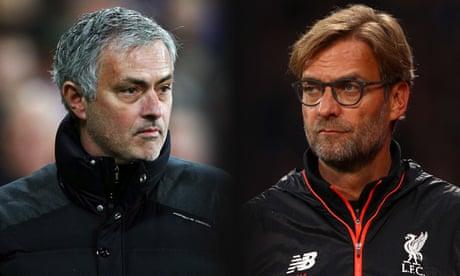 José Mourinho v Jürgen Klopp and the question of football aesthetics | Jonathan Wilson