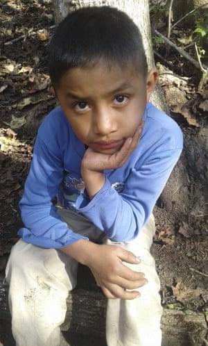 Felipe, eight, in Guatemala.