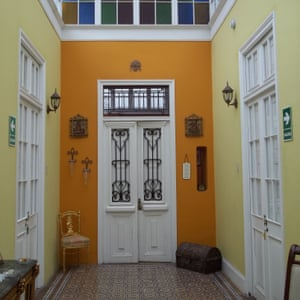 The Lobby Area And Front Door Of Residencial Miraflores BB Lima