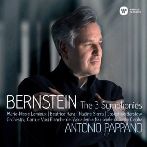 Bernstein The 3 Symphonies cd cover