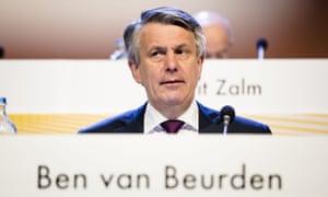 The Shell chief executive, Ben van Beurden