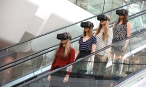 Virtual Reality 'Future Fashion' Event at Westfield.