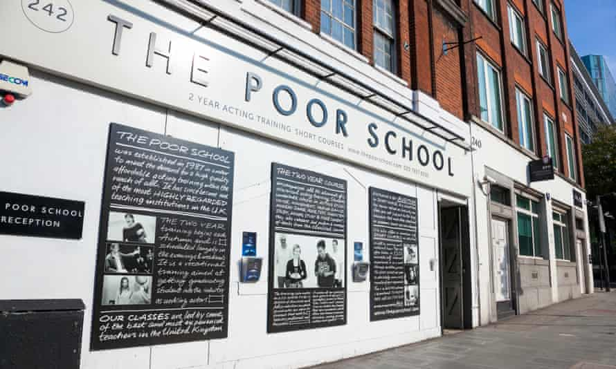 London's Poor School drama school