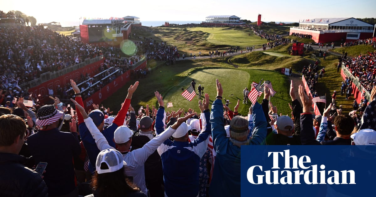 Team USA crush Europe in Ryder Cup – in pictures