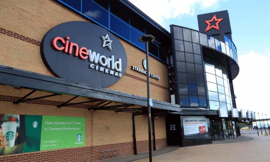 a Cineworld cinema in Northampton