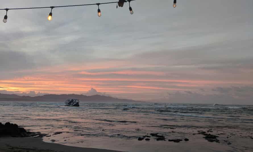 Puerto Viejo de Talamanca on Costa Rica's Caribbean coast.