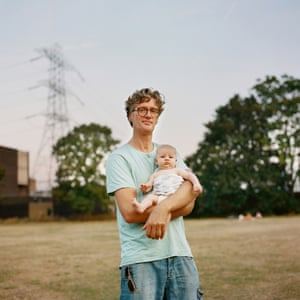 Brian and Saorlaith, Millfields Park by photographer Sophia Spring from the book Park Life.