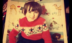 Cathy Cassidy as a young girl - with a serious library habit.