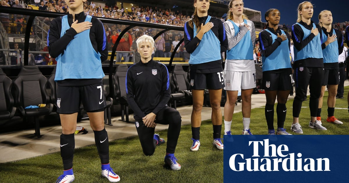 Megan Rapinoe on taking a knee: White people were mad. Whew, were they mad