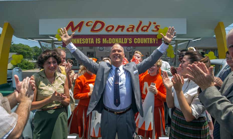We're all burgered … Michael Keaton as Ray Kroc in The Founder.
