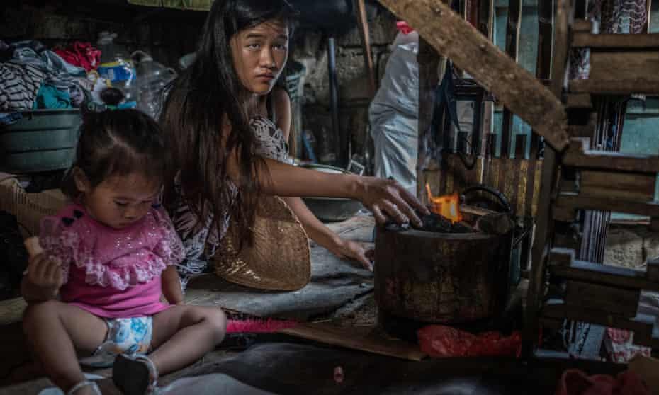 Jasmine Durana, 16, lost her husband to Duterte's war on drugs