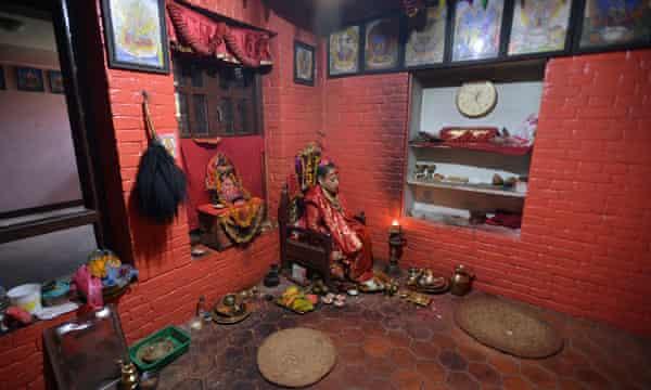 Dhana Kumari Bajracharya's room.