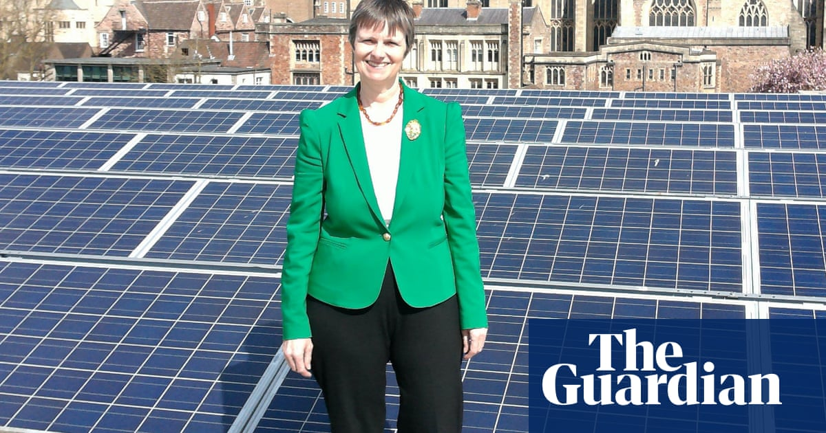 Molly Scott Cato: 'It's the wealthy who are causing climate change'