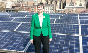 Molly Scott Cato says councils should ensure that all public buildings have solar panels