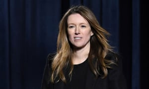 Clare Waight Keller at Paris fashion week in March.