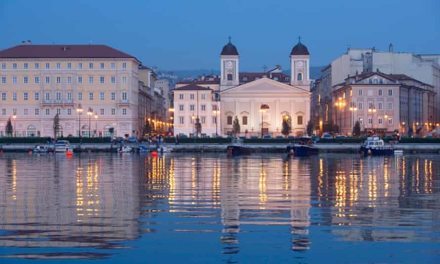 The Greek Orthodox Church of Saint Nicholas in Trieste, Italy.