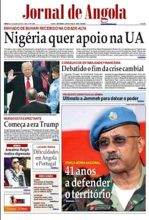 Jornal de Angola, Luanda