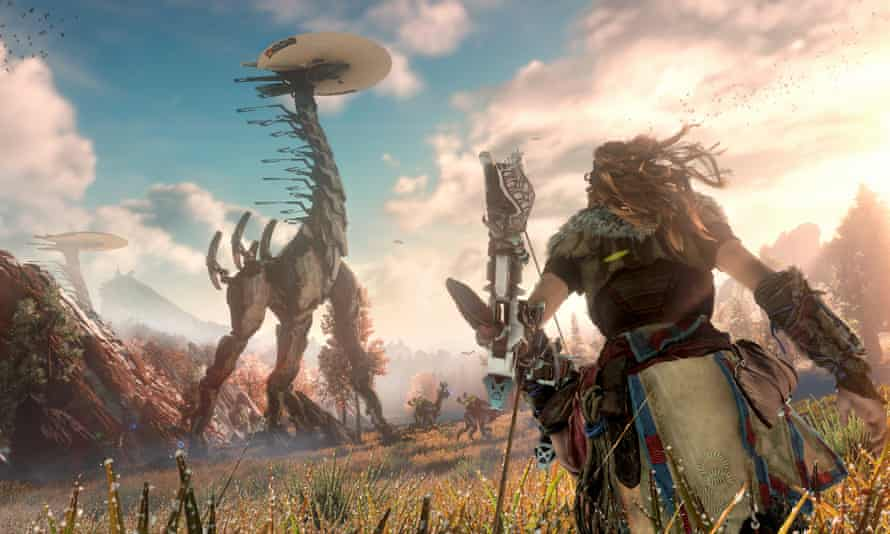 Horizon: Zero Dawn could well be a showcase title for the new console