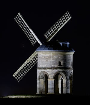 Jupiter and Saturn over Chesterton Windmill, UK - 20 Dec 2020Mandatory Credit: Photo by Jamie Cooper/REX/Shutterstock (11655181a) The two gas giant planets Jupiter and Saturn over Chesterton Windmill Jupiter and Saturn over Chesterton Windmill, UK - 20 Dec 2020 Closest approach, or conjunction, of the two gas giant planets, Jupiter and Saturn is this evening for the UK when they will be around a tenth of a degree apart - that's five apparent moon diameters. The 2020 great conjunction of Jupiter and Saturn will be the closet pairing since 1623 and the closest observable since 1226!