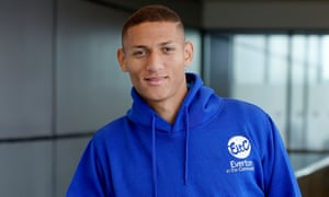 Richarlison has had a mixed start at Goodison Park but promises his red card against Bournemouth was a blip.