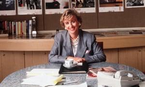 Tina Brown, 1990.
