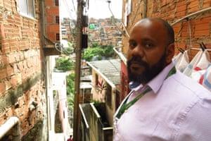 Gielson do Sacramento, a field manager for the programme in Pau da Lima
