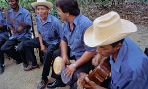 Musical group performing near El Güirito, eastern Cuba.