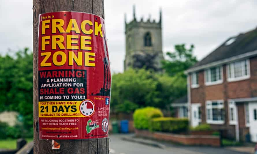 Protesters in the village of Misson fear unexploded ordnance could detonate if fracking goes ahead.