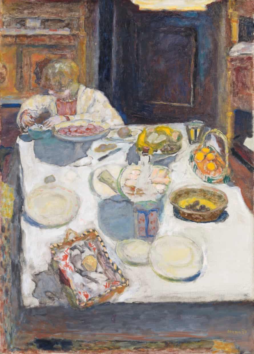 Bonnard's The Table, 1925.
