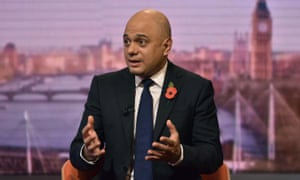 Sajid Javid, chancellor of the exchequer, on the BBC's Andrew Marr Show, November 2019