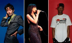 Pulp's Jarvis Cocker, PJ Harvey and Dizzee Rascal