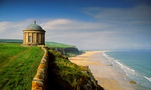 Mussenden Temple, Downhill, Co Derry, Ireland.