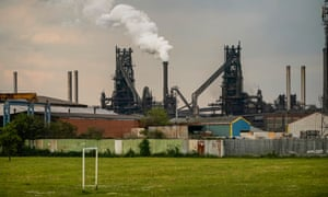 British Steel's Scunthorpe works are the main asset in the company's liquidation.